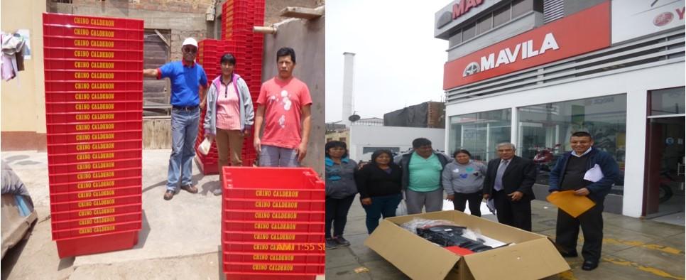 FONDEPES ENTREGÓ MOTORES FUERA DE BORDA Y  CAJAS DE PESCADO EN ANCON Y HUAURA