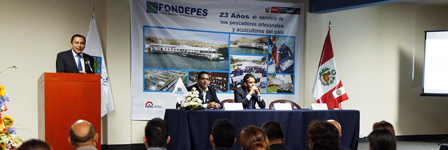 EL 2016 TENDREMOS 20 DESEMBARCADEROS PESQUEROS ADECUADOS A LA NORMA SANITARIA CON UNA INVERSIÓN DE MÁS DE 240 MILLONES DE SOLES